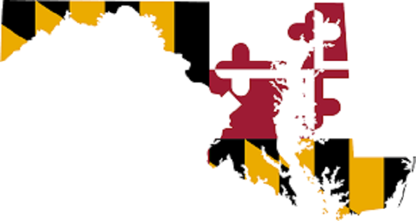 Using Hard Money Loans in Maryland Map