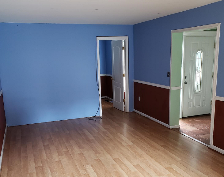 Before Photo Of Rehab Project In The Washington Dc Area