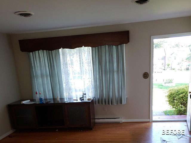 Before Photo of Rehab Project in Washington, DC Area