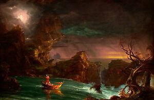 Thomas Cole Voyage Of Life 1
